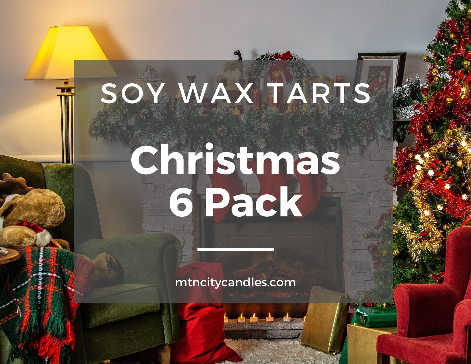 Soy Wax Tart - Christmas 6 Pack