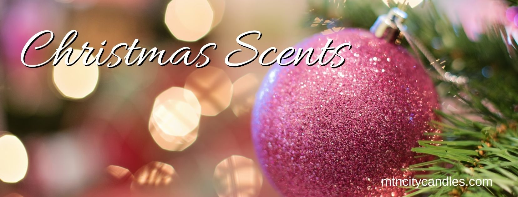 Christmas Scented Candles & Melts