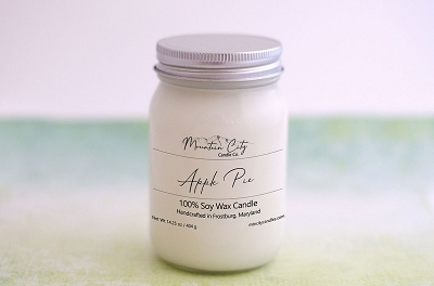 Apple Pie Scented Large Jar Candle
