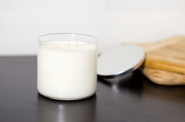 unscented 3 wick by Mountain City Candleck in Frostburg maryland