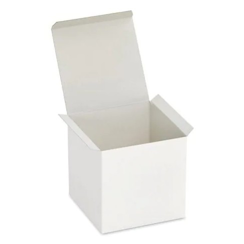 White Gift Box - Fits 3 Wick Candle