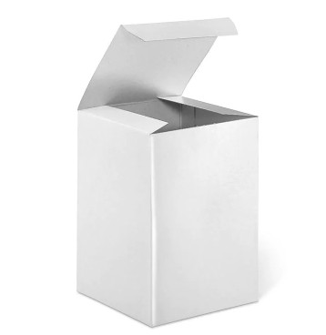 White Gift Box - Fits 14 oz Candle